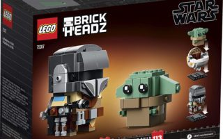 The LEGO BrickHeadz Star Wars The Mandalorian & The Child 75317 Building Kit is set to be release on Aug 1. 2020. Pre-Order yours today!