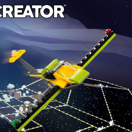 Lego Creator 31092 Build - Glider Plane