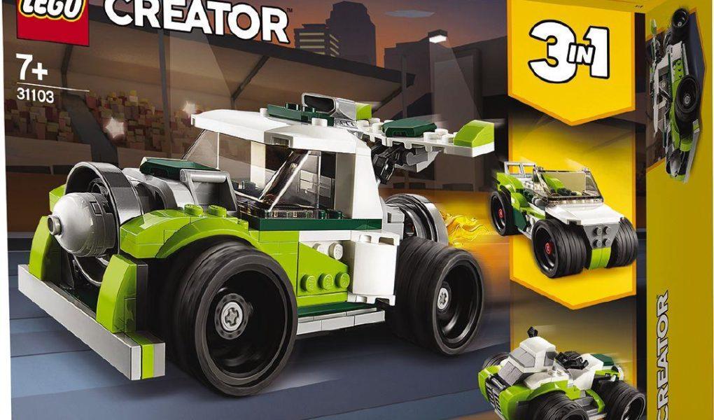 Lego Creator 3 in 1 Rocket truck 31103