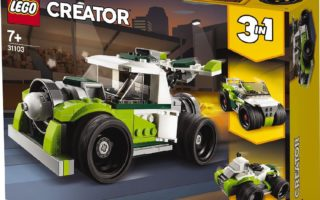 Lego Creator 3 in 1 Rocket truck 31103