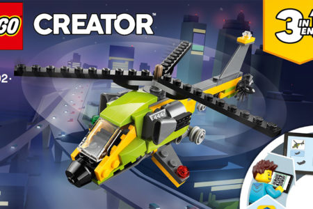 How-To LEGO Creators 3 in 1 Speed Build 31092 – The Helicopter (Build 1)