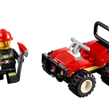 Lego City - Fire ATV - 30361