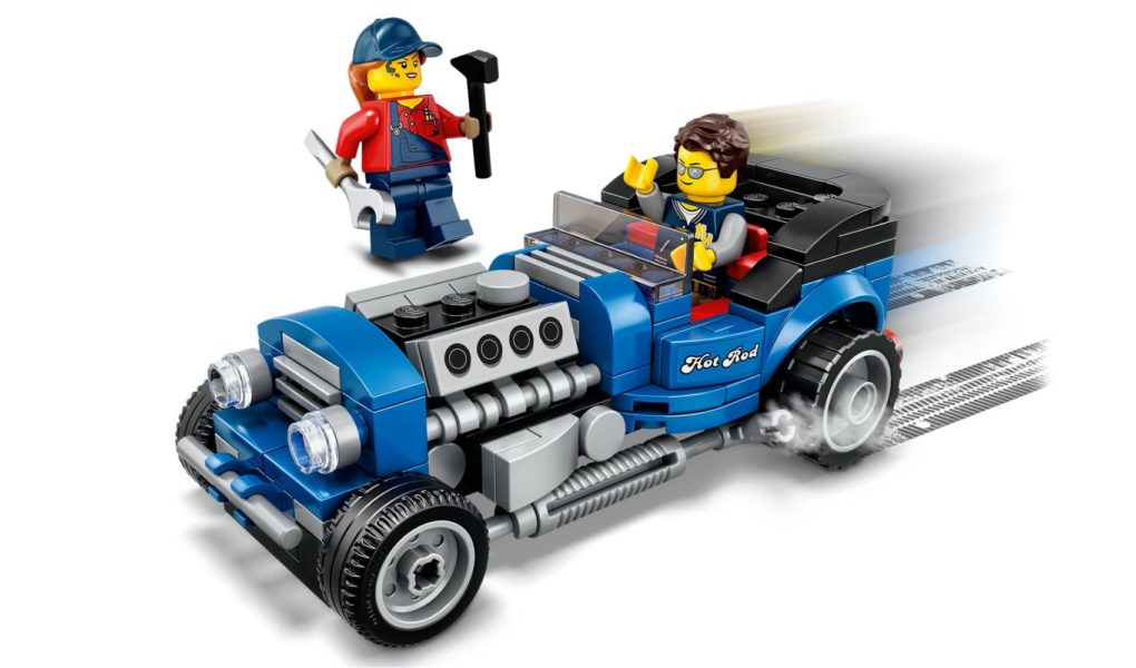 "Exclusive VIP ""Blue Fury"" Hot Rod"